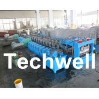 Galvanized Steel Silo Corrugated Roll Forming Machine With 18 Forming Stations Manufactures