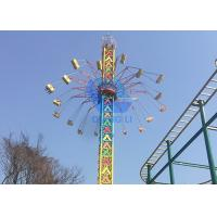 Safety Amusement Park Thrill Rides Top Drop Swing Rotary Flying Sky Tower Rides Manufactures