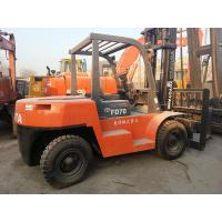 China Used Toyota 7 ton Forklift For Sale on sale
