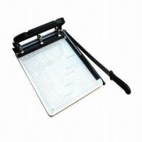 Paper Cutter with Stiletto and Paper Punch Manufactures