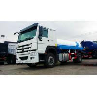 10000 Liters Fuel Oil Liquid Tanker Truck Howo 4x2 6 Wheels RHD / LHD for sale