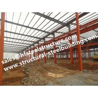 Hot Galvanized Industrial Steel Buildings Modular Construction Sheds And Warehouse Din1025 Manufactures