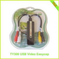 Quality TY306: USB Video EasyCap USB 2.0 Video Adapter with Audio for sale