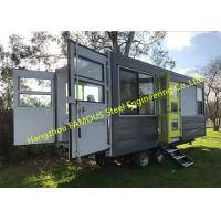 Modern Design Shipping Container House On Wheels Tiny Container Home With AUS/NZ Approved Manufactures
