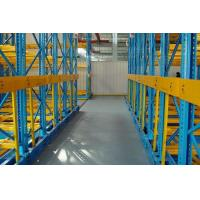 Automatic Movable Racking Systems Heavy Duty 800 X 800 MM With Guide Wheel Manufactures