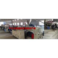 Anti Chemical Corrosion Plastic Board Production Line Crust Foam WPC Board Production Line Manufactures