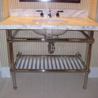 Vanity, Sink Rack, Bathroom Hardware with Set of Relevant Accessories, Made of Stainless Steel Manufactures