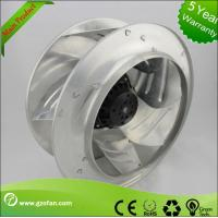 Small High Pressure AC Centrifugal Fan / Air Blower Fan With AC Motor Manufactures