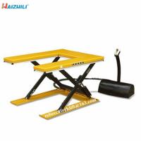 China Industrial new design U type electric lifting table 1000kg scissor lift platform on sale