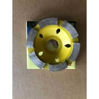 China BMR TOOLS 80mm Diameter Diamond Cup Wheel For Marble and Concrete Grinding work on sale