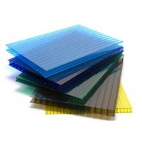 Twinwall Sun Board Hollow Polycarbonate sheet for Bus Shelter Manufactures