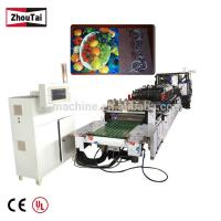 Bag Forming 3 side seal pouch making machine 48 kilowatt computerized heavy duty Manufactures