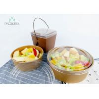 Pasta Salad / Meal Food Delivery Container 750ml Leak Proof Food Grade Eco - Friendly Manufactures