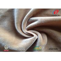 China OEM Soft Polyester Velvet Fabric / Polyester Flannel Fabric Furniturer Cover Use on sale