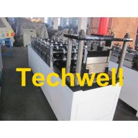China 0.4 - 1.0mm Steel Wall Angle Roll Forming Machine With 60mm Axis Diameter on sale