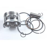 High Structured Motorcycle Engine Pistons And Rings WAVE125 Wear Resistance Manufactures