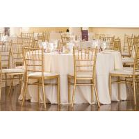 wedding chiavari chair white tiffany chair with cushion Stack Cheap Banquet Chairs For Sale Manufactures