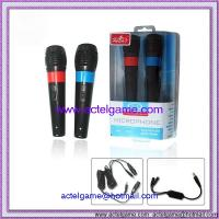 Wii 2in1 Wired Microphone Nintendo Wii game accessory Manufactures