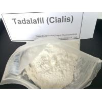China Enhancement Tadalafil / Cialis Sex Steroid Hormone Powder CAS 171596-29-5 on sale