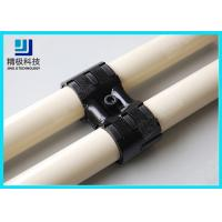 Adjustable Swivel Metal Pipe Joints For Rotating In Pipe Rack System Black Fitting HJ-8 Manufactures