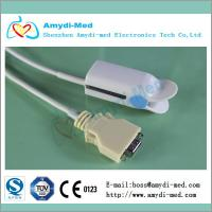 GE-PRO1000 N- 390,N-395,N-3000 N-6000 spo2 sensor ,TPU material,3M Manufactures