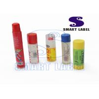 China Biodegradable Plastic PET Shrink Labels on Red Wine Bottle 7 Colors on sale