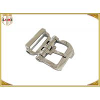 OEM Service Stainless Steel Buckles With Pin , Stainless Steel Roller Buckle Manufactures