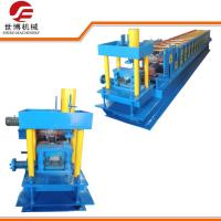 C U W Channel Stud Truss Furring Channel Roll Forming Machine SB - 100 for Ridge Cap Manufactures