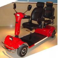 Two-Seat Heavy-Duty Larger Powerful Mobility Scooter (QX-04-10A) Manufactures