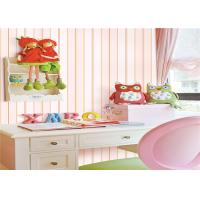 Pvc Vinyl Kids Bedroom Wallpaper Washable Soundproof With Foaming Tech Manufactures