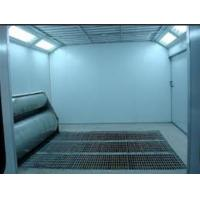 China Electric Furniture Spray Paint Booth With Downdraft 24*5*3.2m on sale