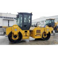 74.9kw Road Maintenance Machinery , Road Compactor Double Drum Vibratory Roller Xd82 Manufactures