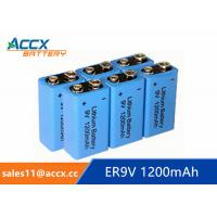 9V battery 1200mAh smoke detector battery, fire detector battery, long self life 10 years Manufactures