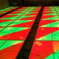 720pcs LED Light Dance Floor , Wedding LED Dance Floor Highly Resistant To Impact Manufactures