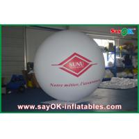 China White Light 0.18mmPVC Inflatable Giant Commerical Helium Ballon Outdoor Advertising on sale