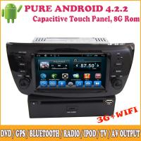 Quality Car Dvd In Car Dvd Player for Fiat Doblo Special OEM DVD/GPS Pure Android System for sale