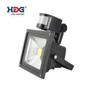 High Lumen 50w Outdoor Flood Lights , Motion Sensor Led Pir Floodlight Manufactures