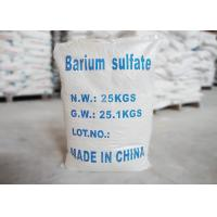 Natural High Whiteness Barium Sulfate Paint Grade Baso4 Cas NO 7727-43-7 Manufactures