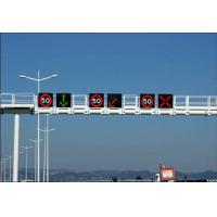 Single Chip Color Fame Nichia DIP510 DC 5 V IP65 Led Traffic Display Signs For Outdoor Manufactures