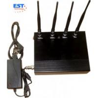 Quality 2G / 3G Desktop Cell Phone Signal Jammer 5 Antenna For Conference Room for sale
