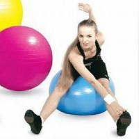 China Yoga Light Weight Exercises Yoga Ball For Back Hands , Customized Eco-Friendly on sale