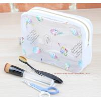 Eco Durable Toilet Kit PVC Cosmetic Bag Clear Wash Bag Organizer Pouch Manufactures