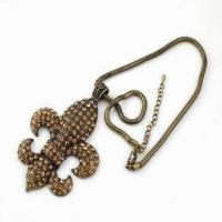 Pendant Necklace, Made of Alloy, with Decoration and Fashionable Design, Available in Various Design Manufactures