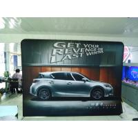20Ft Formulate Straight Tension Fabric Displays , exhibition display stands Manufactures