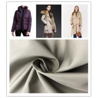 Customize Color Soft Nylon Fabric High F Twill Coated , Water Resistant Nylon Fabric Manufactures