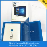 China Win 10 home 32/64bit box Pack Windows 10 Home OEM License Key USB Operating System Software on sale