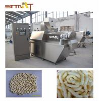 China High Performance SS Twin Screw Food Extruder Machine Siemens PLC Controlled on sale
