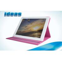 Book Flip PU Apple iPad Leather Cases for Women , Waterproof Screen Cover Manufactures