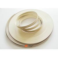 High Gloss Wood Grain Pvc Edge Banding Tape For Furniture / Cabinet Manufactures