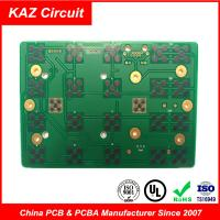 2 layers fr4 printed circuit board 1.6mm 1oz ENIG with Carbon Manufactures